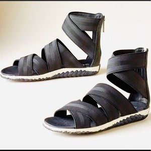 Sorel Out & About Plus Sandals Elastic Gladiator